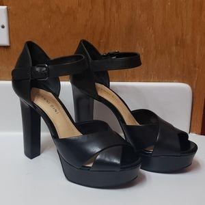 Gianni Bini block heel sandals